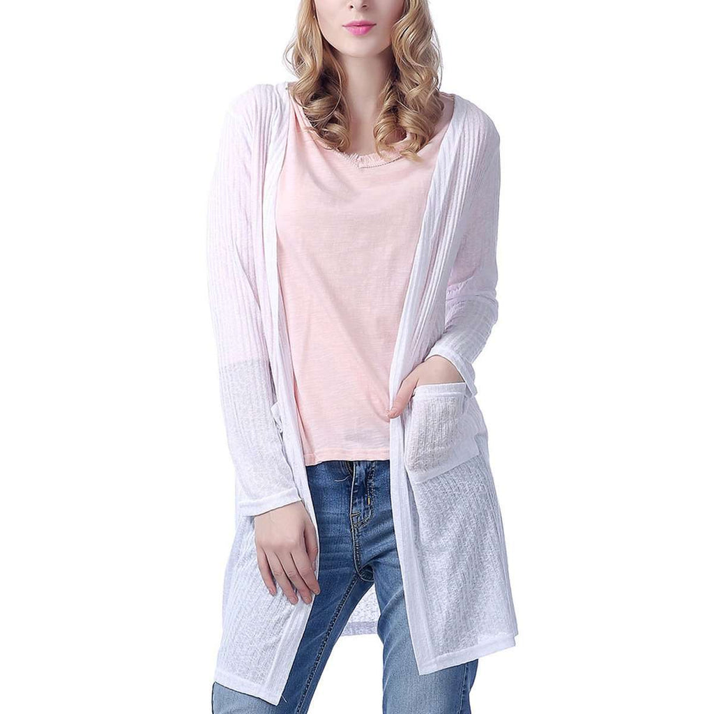 Pocket Long Cardigan