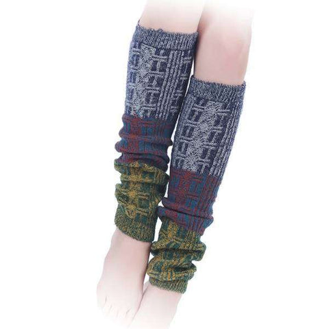Portico Tri Color Leg Warmers