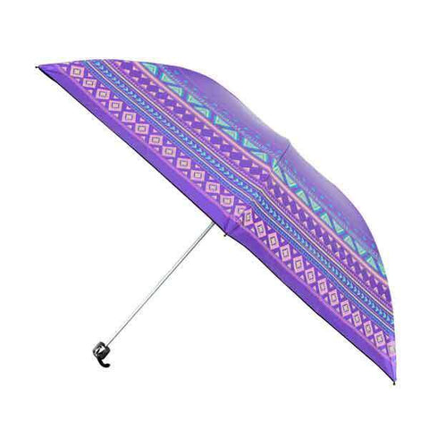 Purple Aztec OmBrella