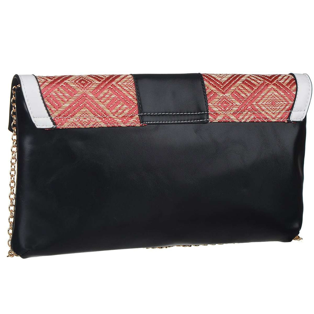 Rattaned Clutch Bag,Clutches,Mad Style, by Mad Style