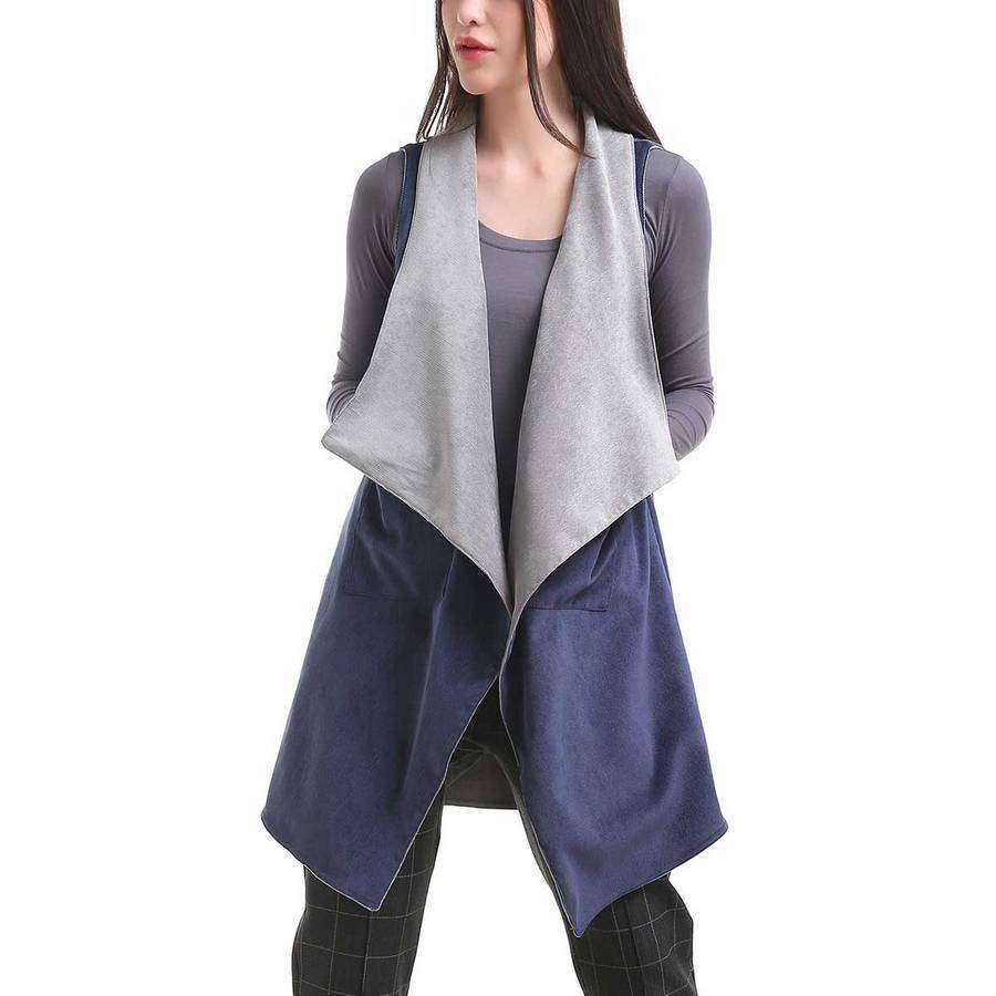 Reversible Corduroy Vest,Outerwear,Mad Style, by Mad Style
