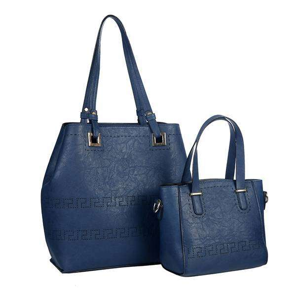 Rhea Duo Handbag Set,Totes,Mad Style, by Mad Style