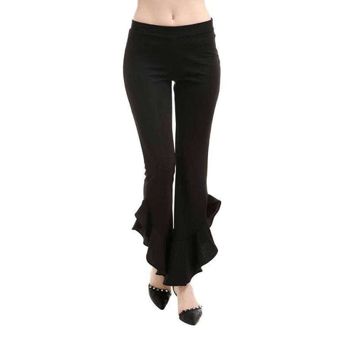 Ruche Bottom Flair Leggings