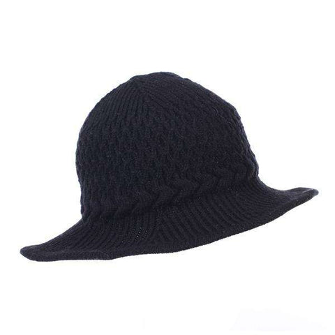 Shapeable Brim Knit Hat