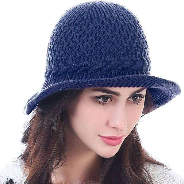 Shapeable Brim Knit Hat,Hats and Hair,Mad Style, by Mad Style