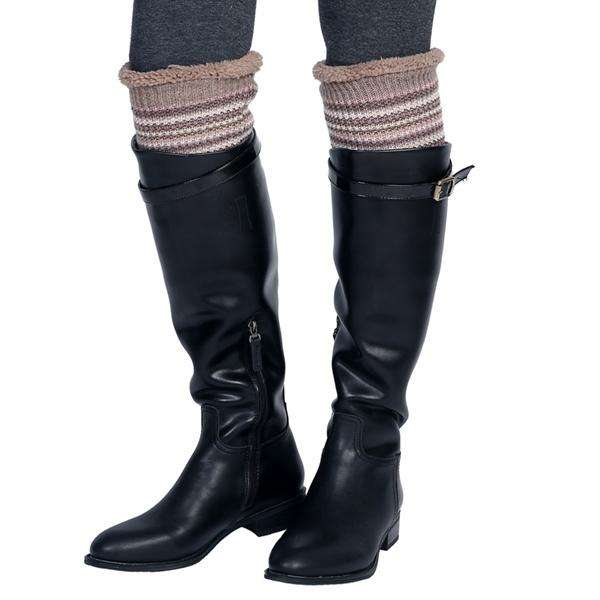 Sherpa Lined Boot Cuff,Winter Accessories,Mad Style, by Mad Style