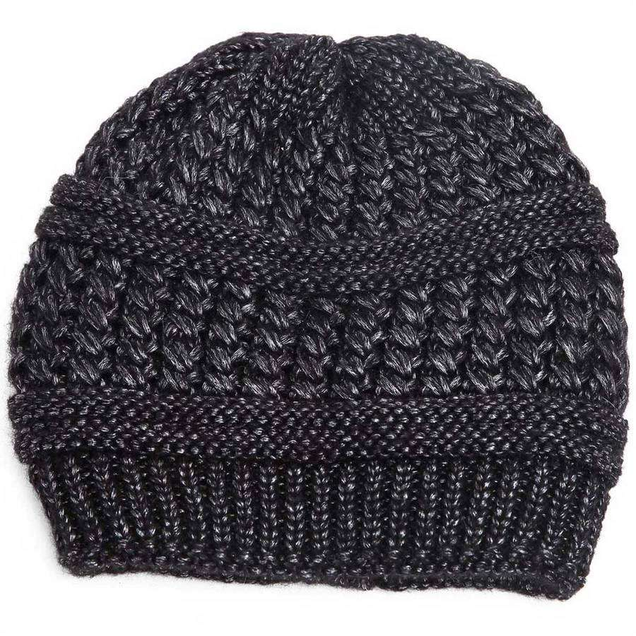 Shimmer Knit Beanie,Hats and Hair,Mad Style, by Mad Style