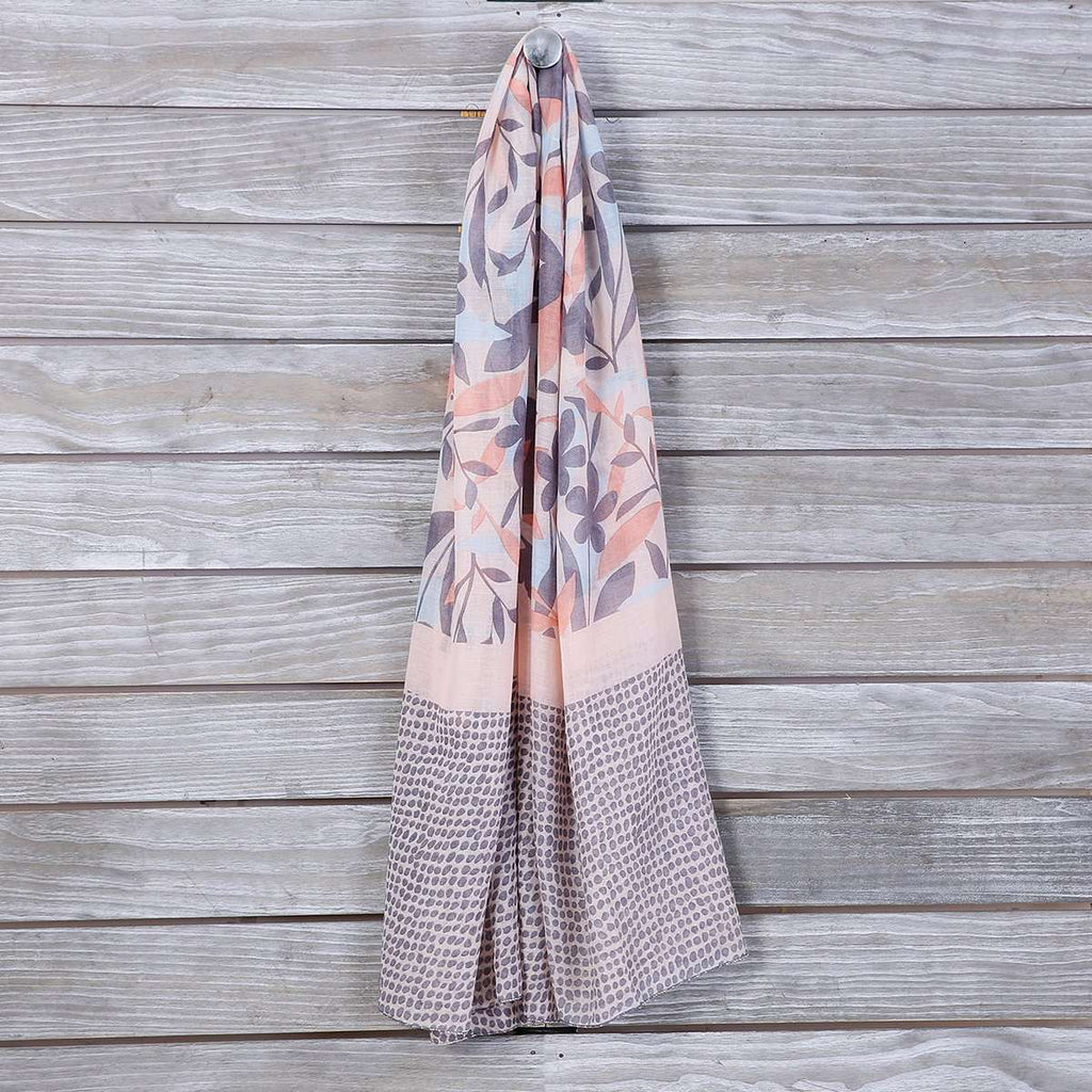 Siena Floral Scarf,Light Scarves,Mad Style, by Mad Style