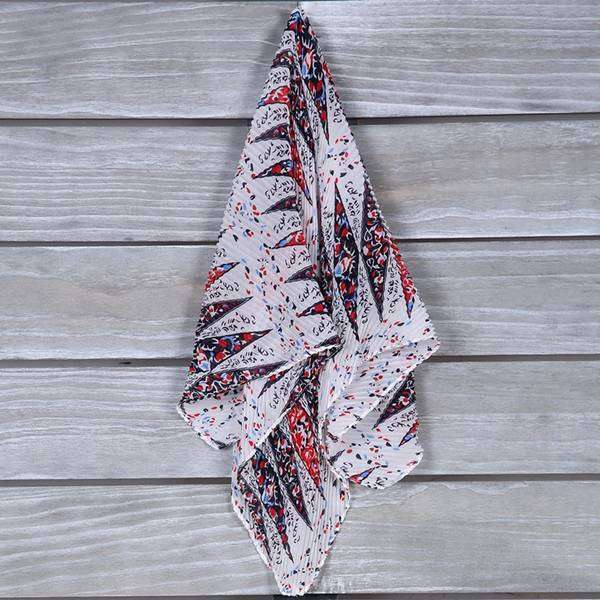 Splatter Paint Neckerchief Scarf,Light Scarves,Mad Style, by Mad Style