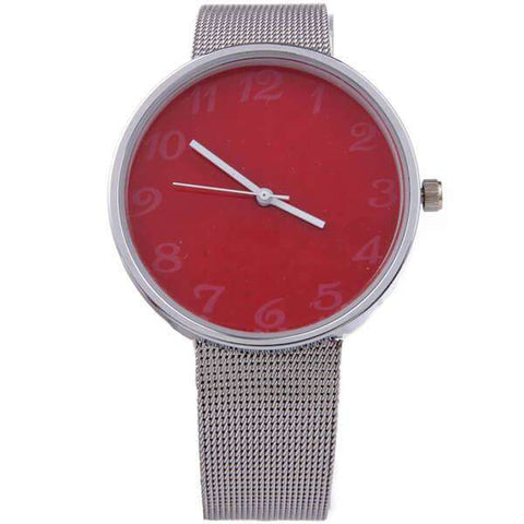 Stainless Mesh Band Watch