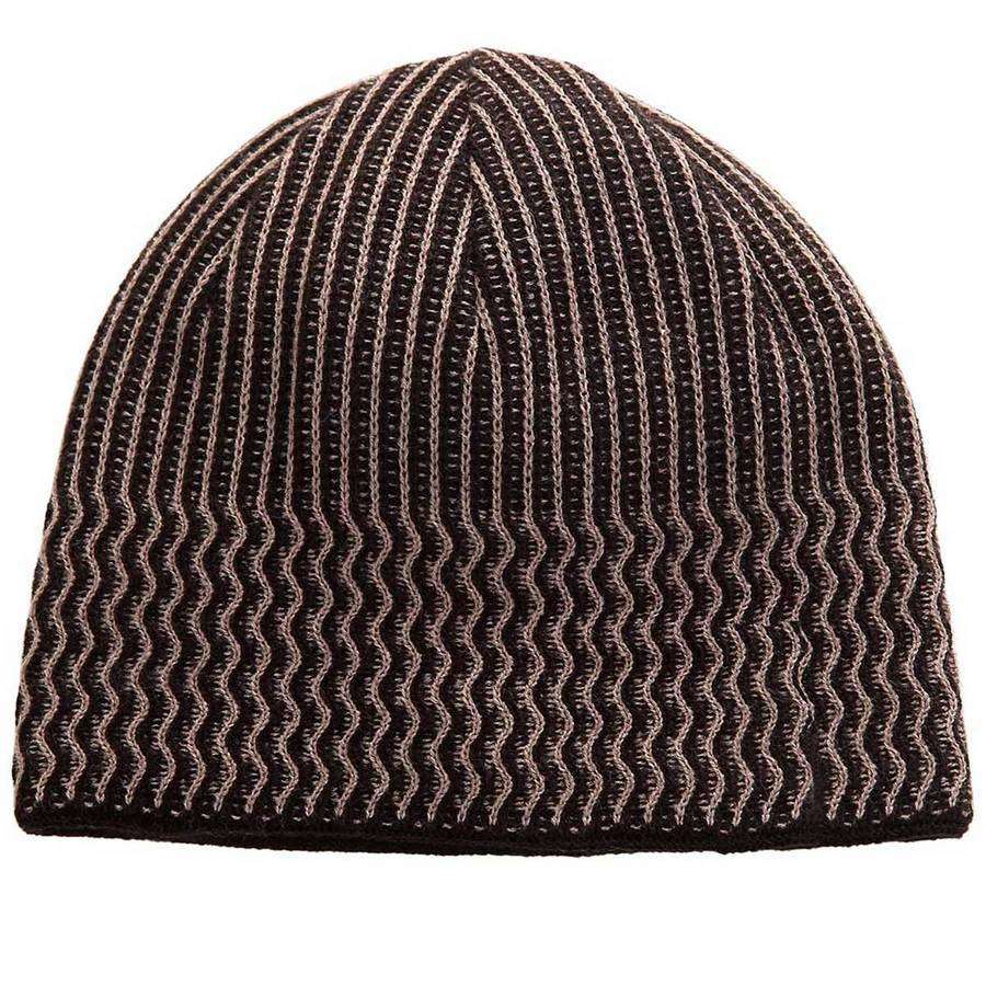 Stripe Mens Beanie Hat