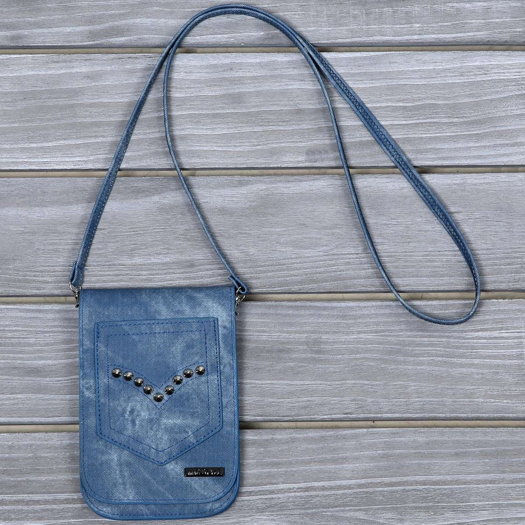 Studded Distress Cross Body,Crossbodies,Mad Style, by Mad Style