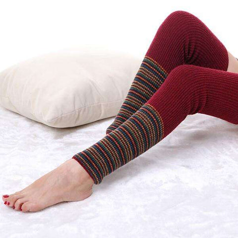 Tahoe Thigh High Leg Warmers