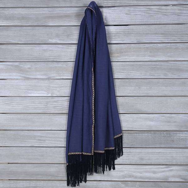 Tassel Trim Scarf,Light Scarves,Mad Style, by Mad Style