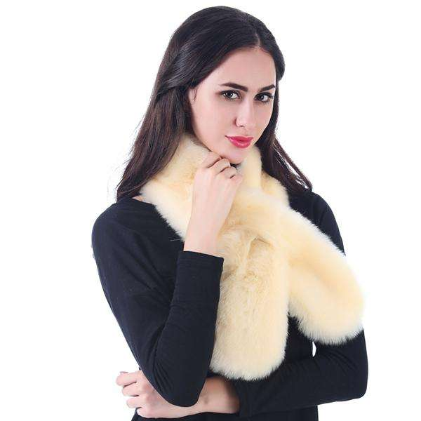 Threading Faux Fur Boa Scarf,Heavy Scarves,Mad Style, by Mad Style