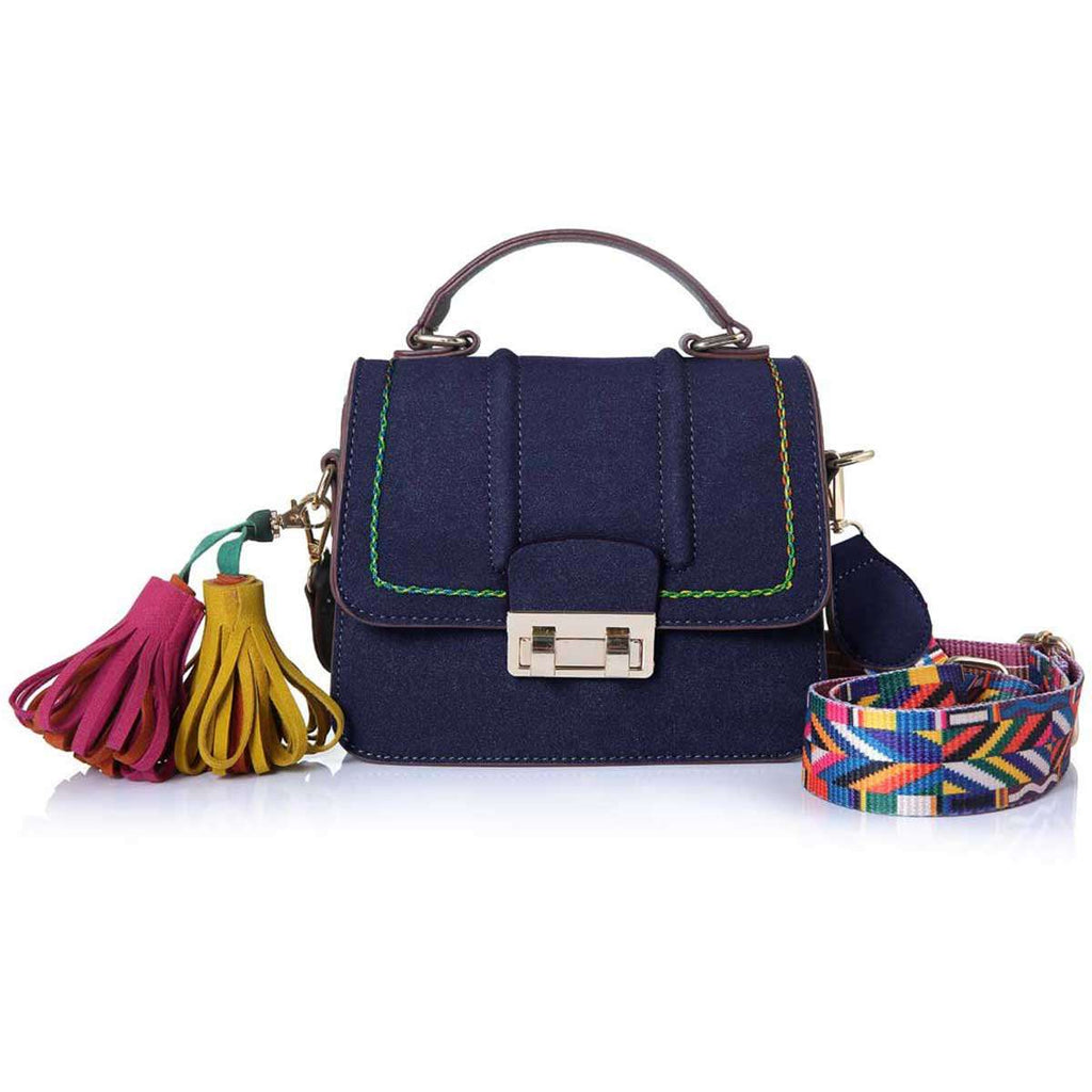 Top Handled Tassel Satchel,Satchels,Mad Style, by Mad Style