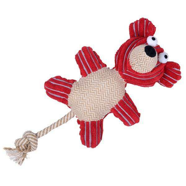 Tug O War Bear Dog Toy,Toys,Mad Style, by Mad Style