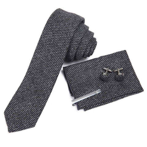 Wool Mens Tie Boxed Set