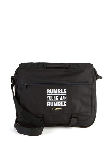 Messenger Bag | Laptop Messenger | Rumble Young Man Rumble | CBMA