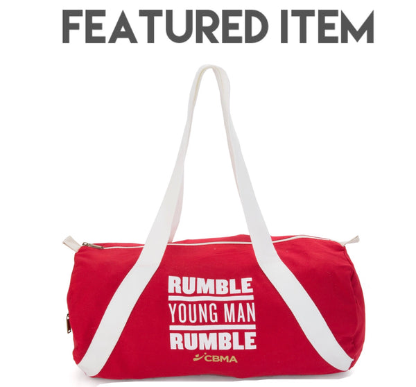 Duffel Bag Rumble Young Man Rumble Front View