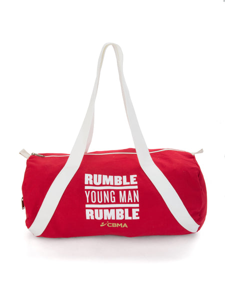 RYMR Canvas Duffel Bag Red/White