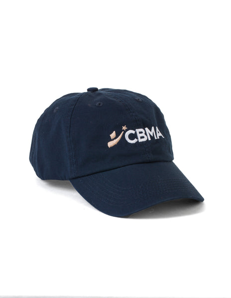 "CBMA ""Dad"" Hat/Cap Unisex Navy/White"