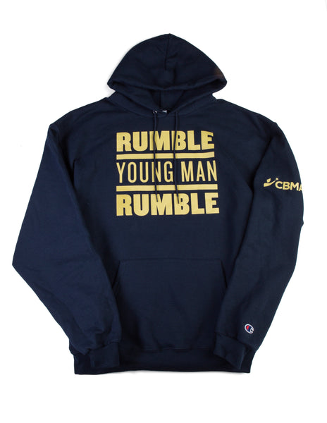 Rumble Young Man Rumble Sweatshirt Hoodie CBMA Front View