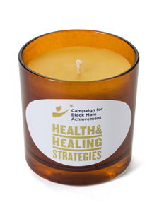 CBMA Health & Healing Strategies Shea and Coconut Oil Beeswax Candle