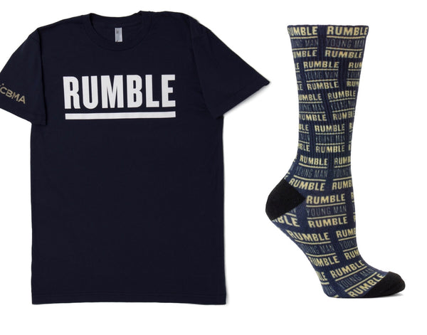 Rumble Young Man Rumble T-Shirt and Socks