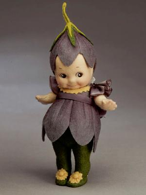 Caper & Crocus -  Bug & Flower Kewpies®