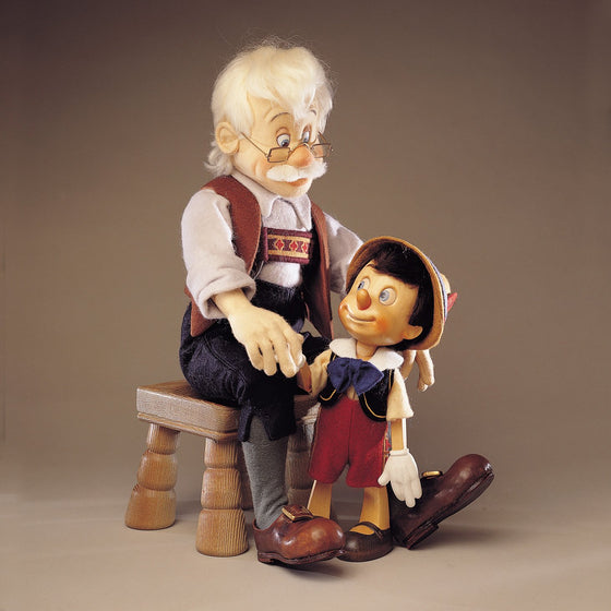 Geppetto & Pinocchio II Traditional