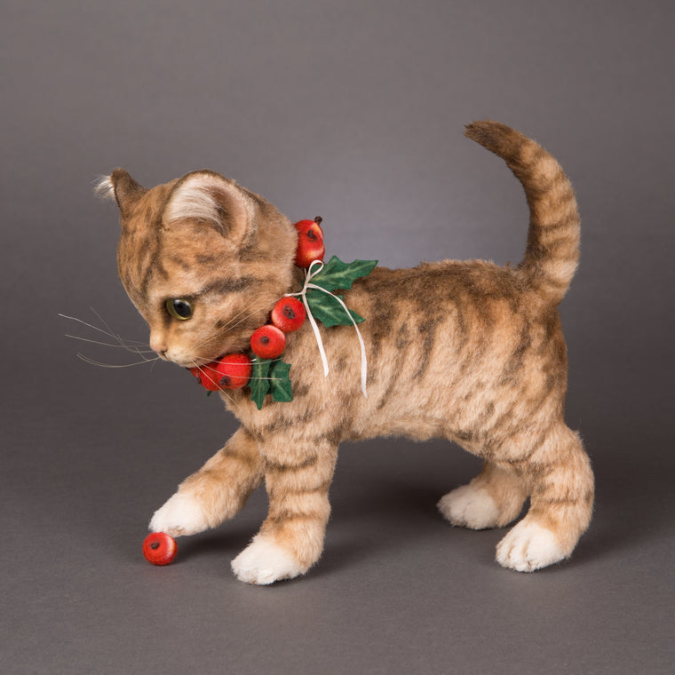 Nutmeg - Christmas Kitten