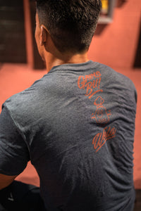 All Day Training Tee - Red Script