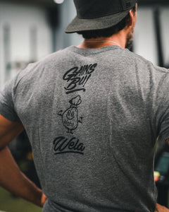 All Day Training Tee - Black Script