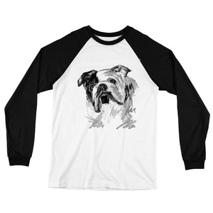 BULLDOG RETRO BASEBALL TEE