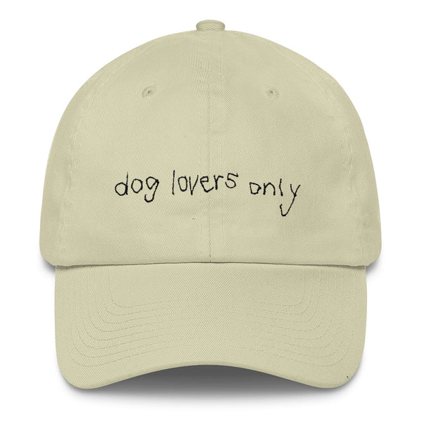 CLASSIC DOG LOVERS ONLY CAP