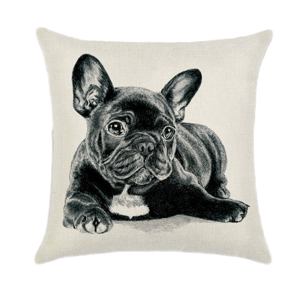 EXCUSE MY FRENCHIE PILLOW