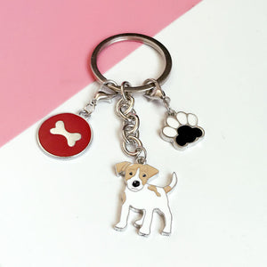 DOG LOVERS DREAM CHARM KEY CHAIN
