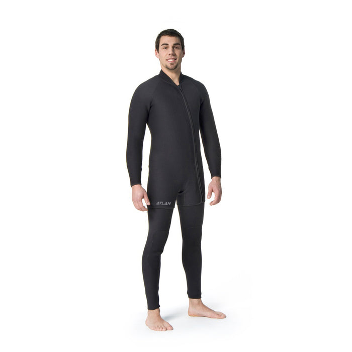 Atlan basic 7mm wet suit for men