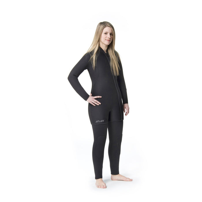 Atlan basic 7mm wet suit for women