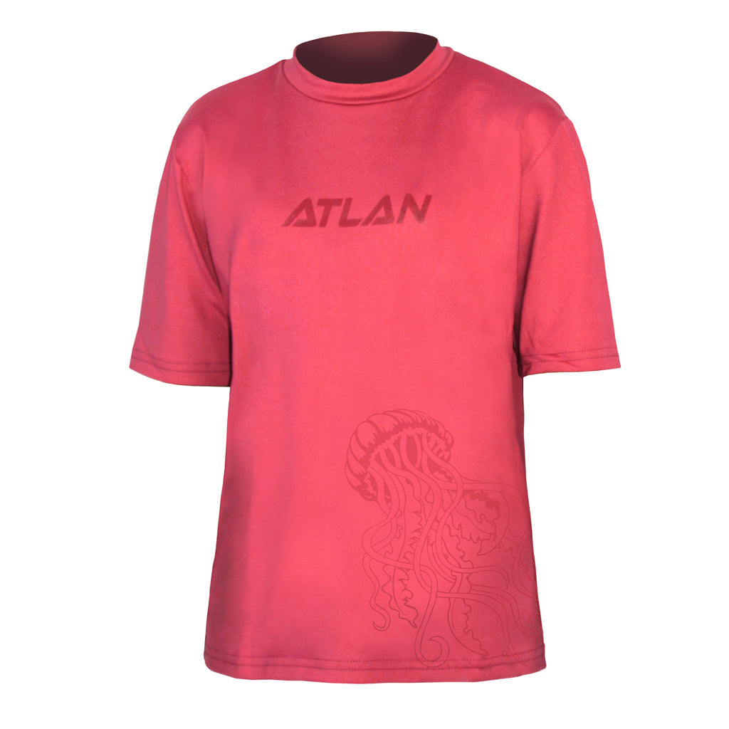 Short sleeve Lycra® Rashguard for girls