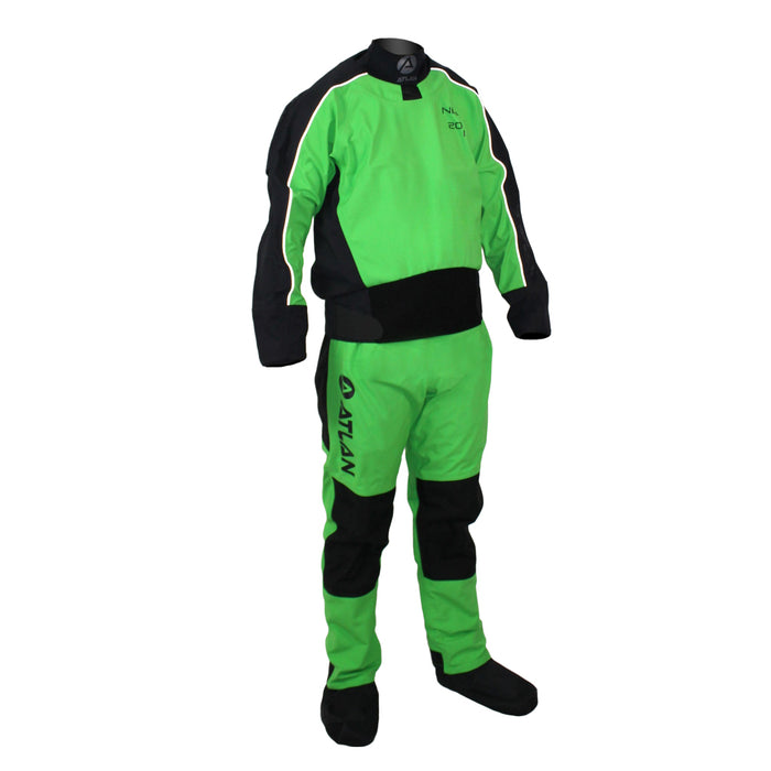 Neilson back entry dry suit without relief zipper