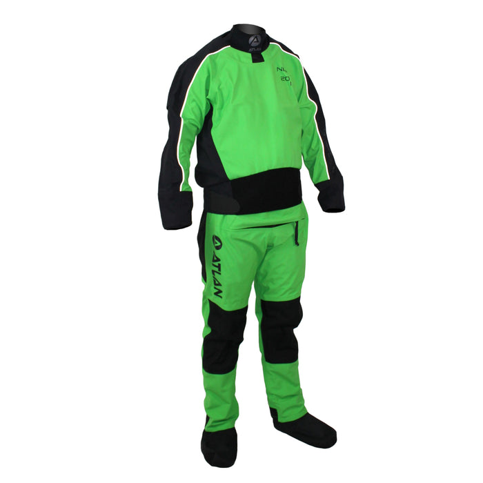 Neilson back entry dry suit with relief zipper