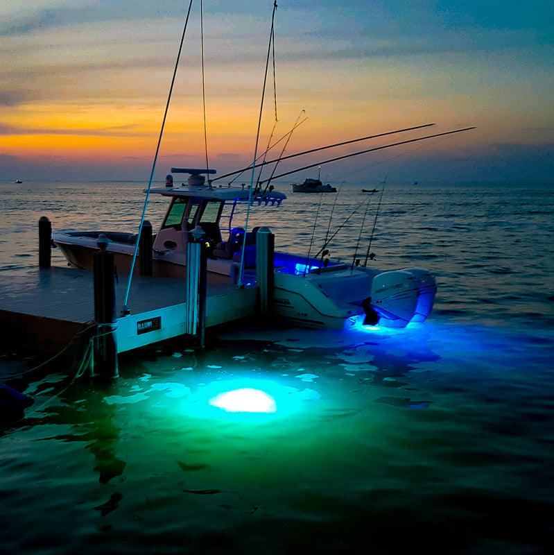 Submersible LED Lights for docks and boats