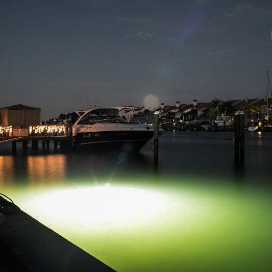 Brightest LED Underwater Dock Lights Mega White