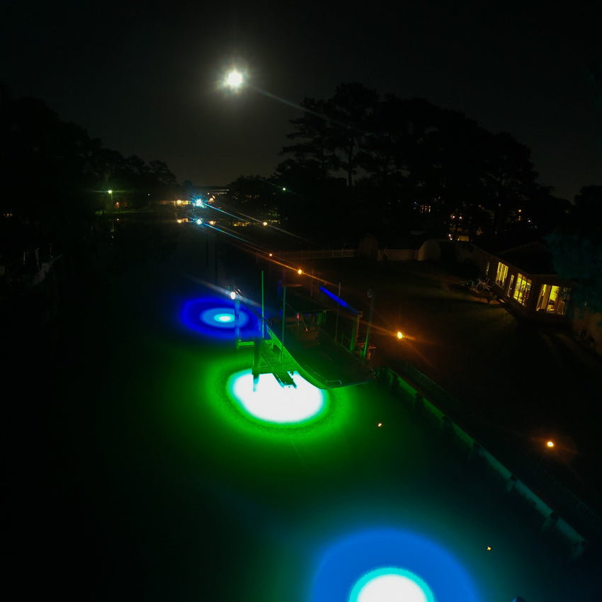 Brightest LED Underwater Dock Lights Saltwater