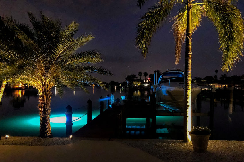 Brightest Underwater LED Dock Lights
