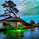 Green Underwater LED Dock Lights
