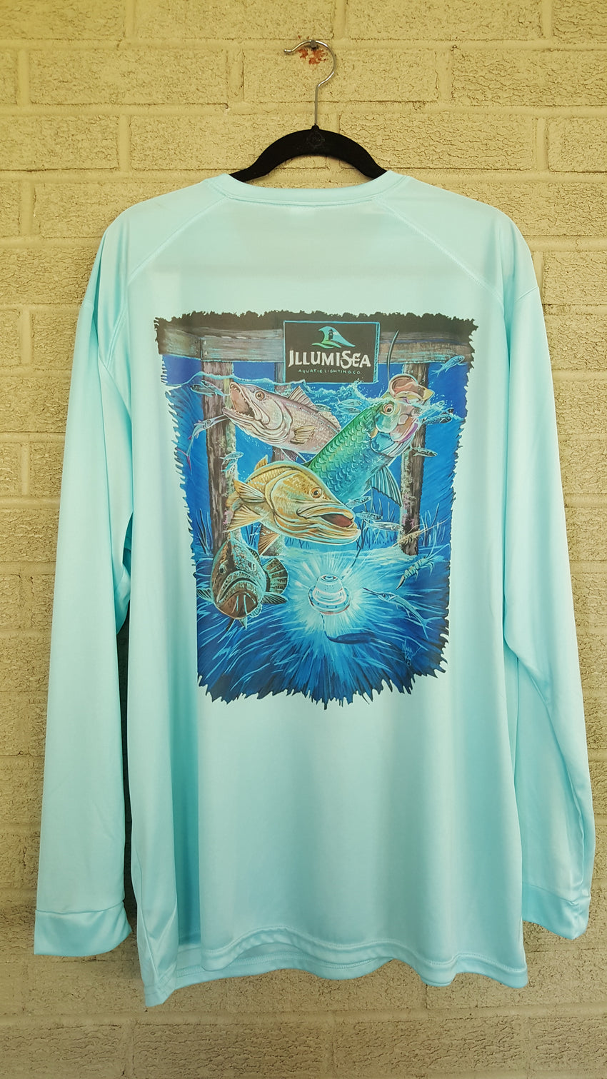 Florida Scene Long Sleeve Fishing Tee (UPF 50+)