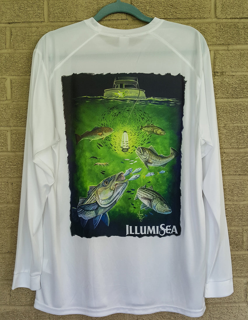 Underwater Fishing Lights T Shirt